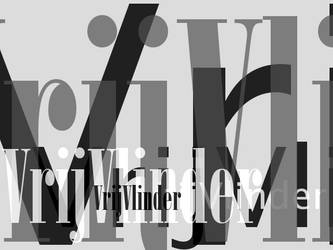 VrijVlinder_Typo Art