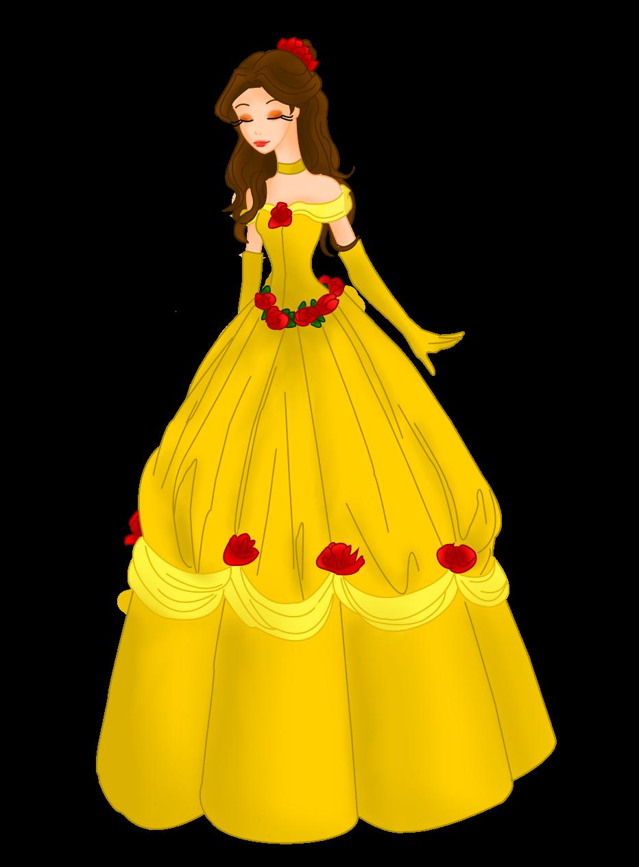 Dessins de Willhelmina ^^ Belle_by_mrsgwenie-d9abhqk