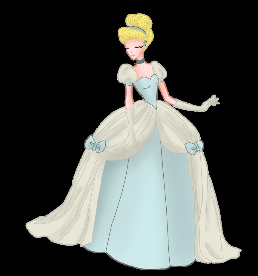 Dessins de Willhelmina ^^ Cinderella_blue_by_mrsgwenie-d9c6dsh