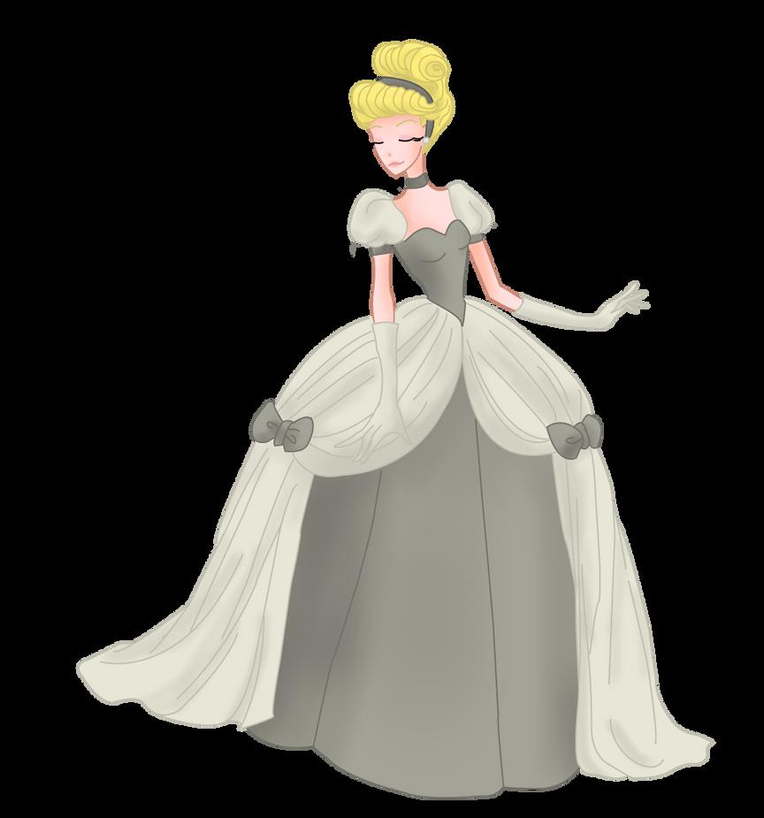 Dessins de Willhelmina ^^ Cinderella_grey_by_mrsgwenie-d9c6dxe