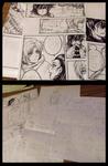 Stranger - chapter two progress sketches