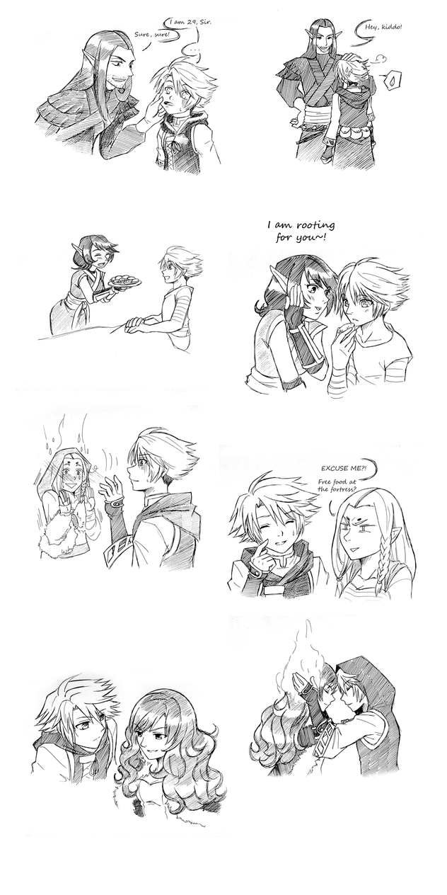 World of Esras RP Doodles #1 by magier