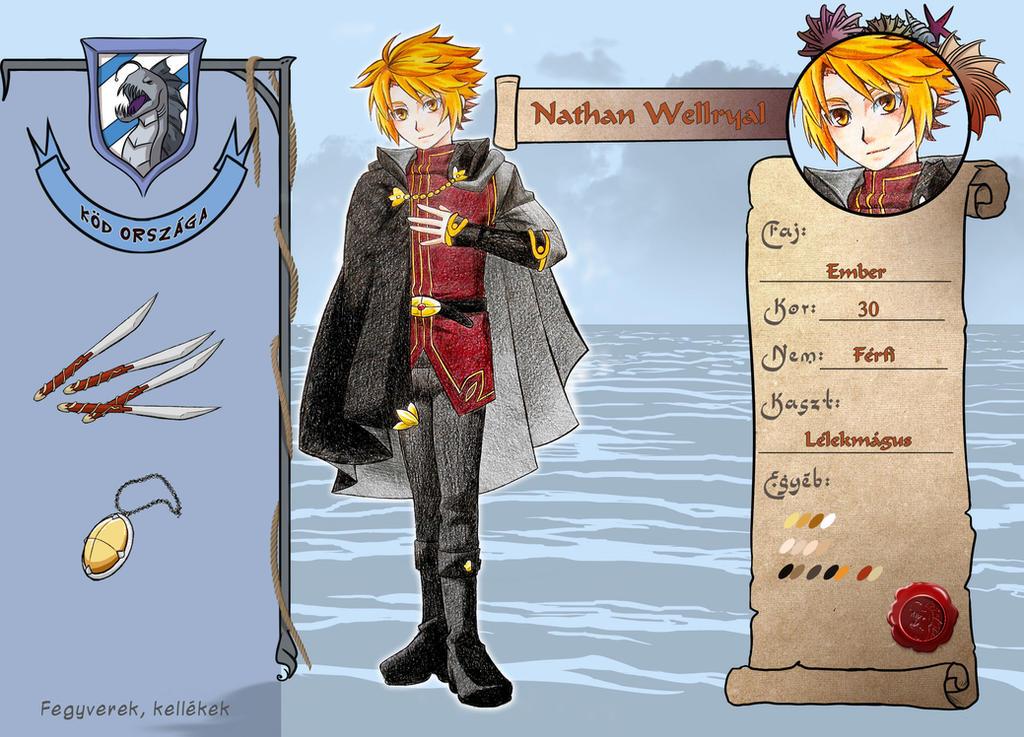 World of Esras - NPC Nathan Wellryal - v3.0 by magier