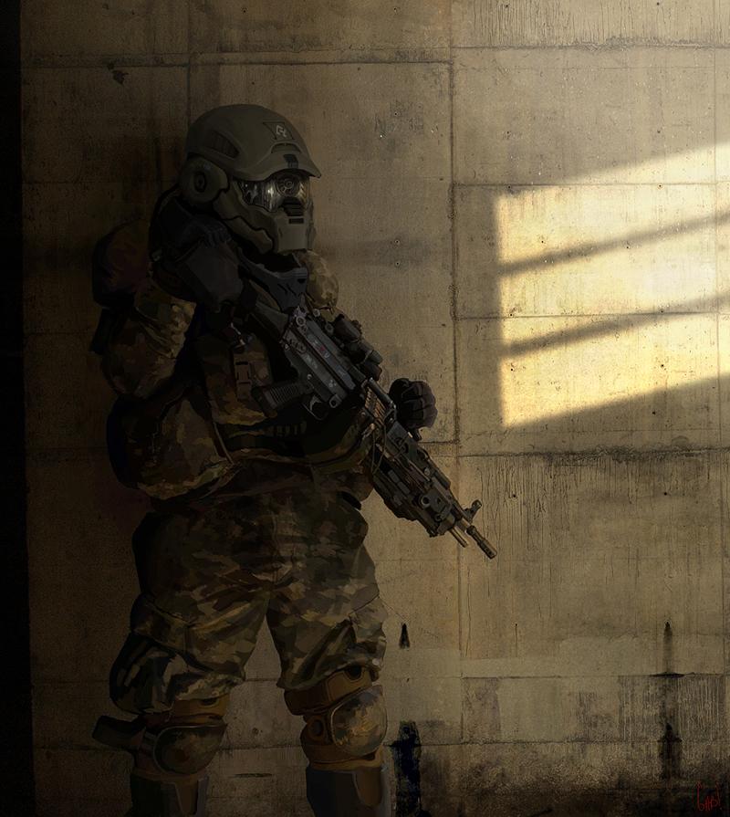 Elite Soldier by wiredgear