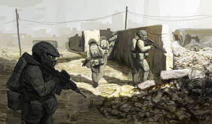 Invasion by wiredgear
