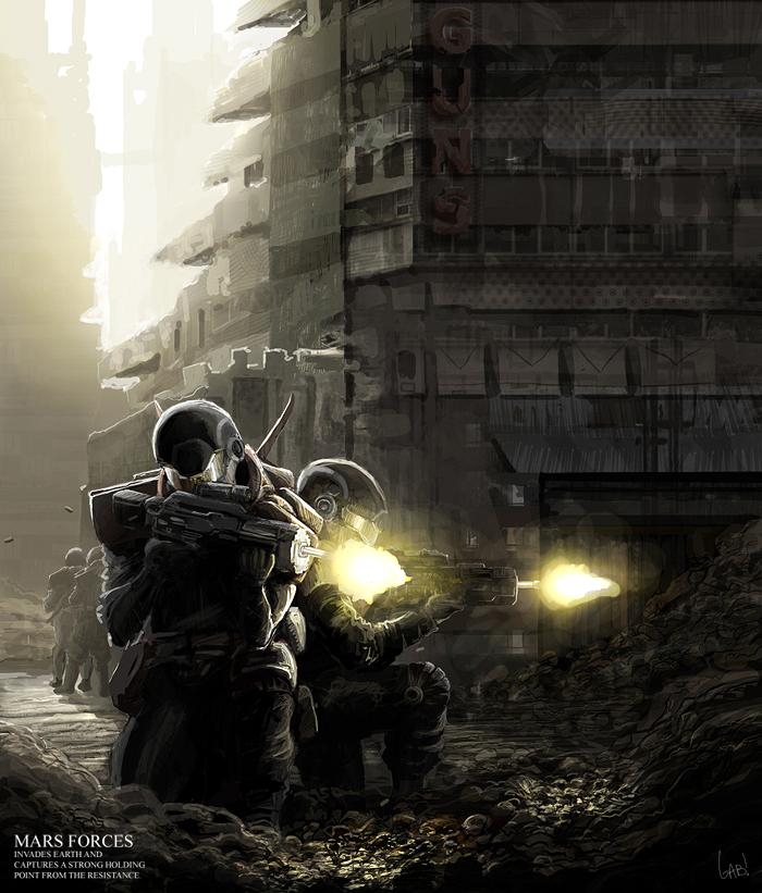 Urban Attack by wiredgear