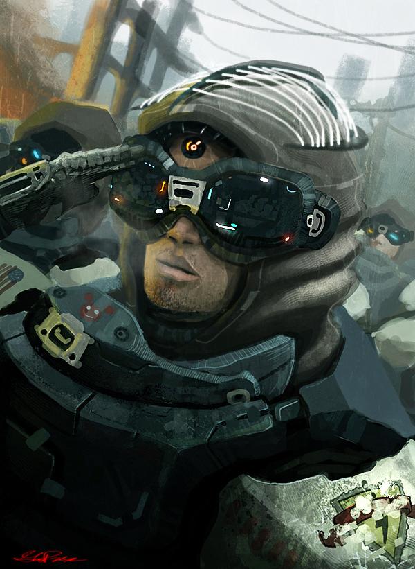 Psi Soldier by wiredgear