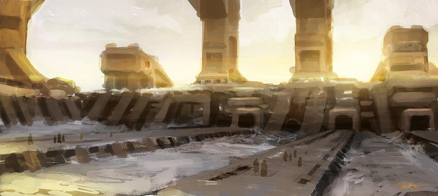 Old Ruins by wiredgear