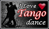 Tango dance Stamp by LuzbelDestello
