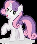 {Vector #46} Mare Sweetie Belle #2