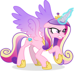 {Vector #57} Angry Cadance by Kojibiose