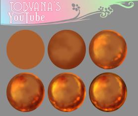 Liquid Metal Marble by Tobyana