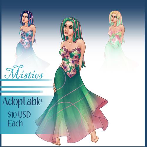 OPEN - Misties Adoptables Sale by Tobyana