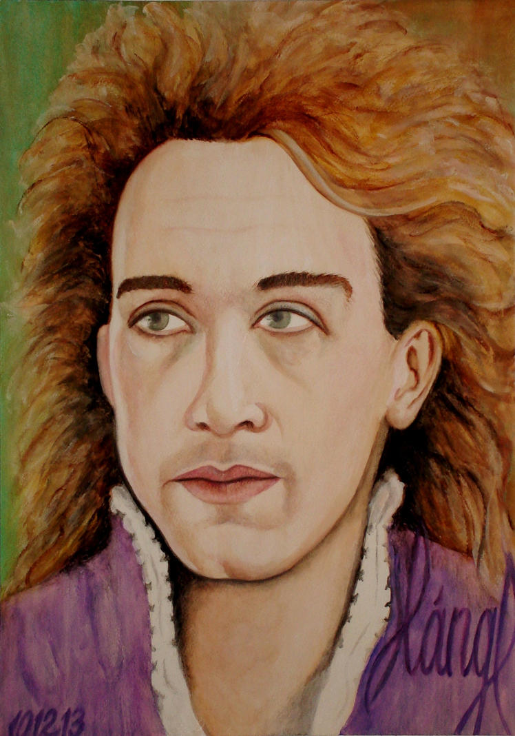 Tom Hulce as W.A. Mozart by EvelinLang on DeviantArt
