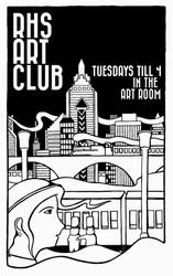 Art Club Poster Request by BillyTwo