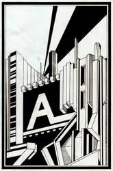 Alphabet Edge by BillyTwo