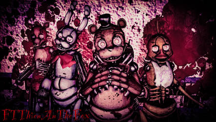 Drawkill Animatronics (FNAF) by FTThienAnTheFox