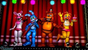 [C4D/FNAF] Toy Animatronics Remake