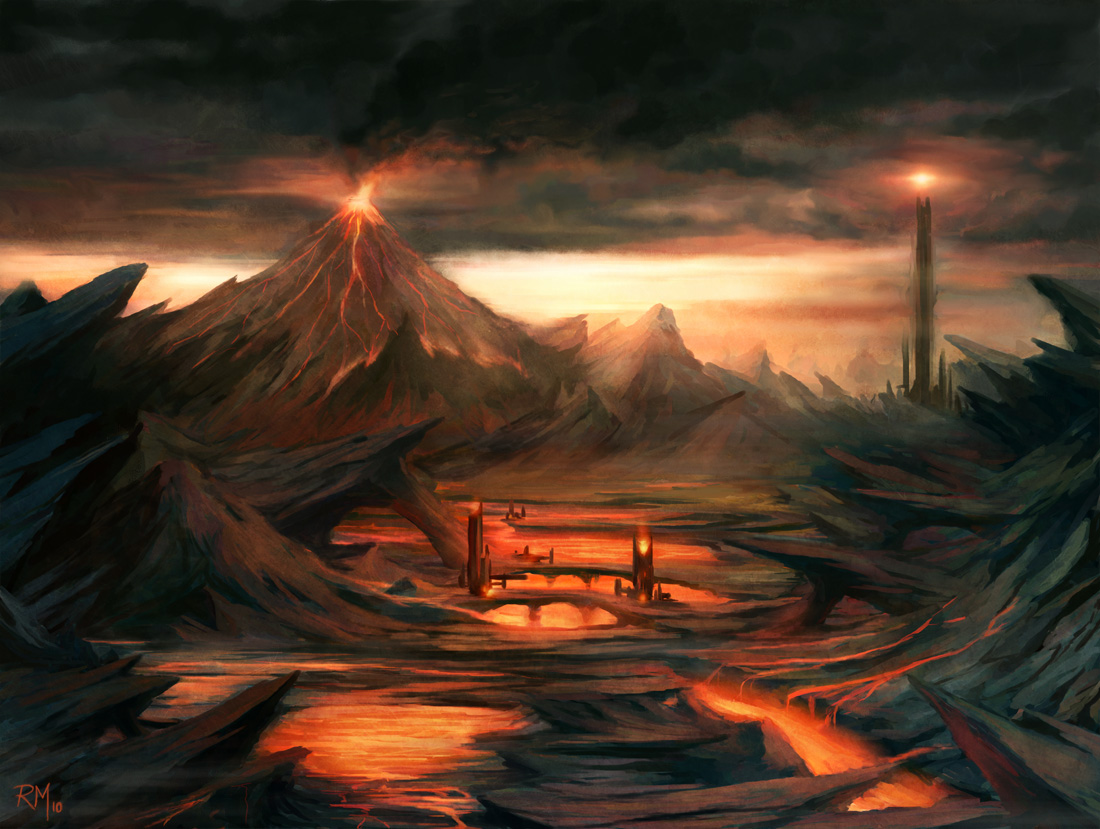 Mordor - Gorgoroth by rodmendez