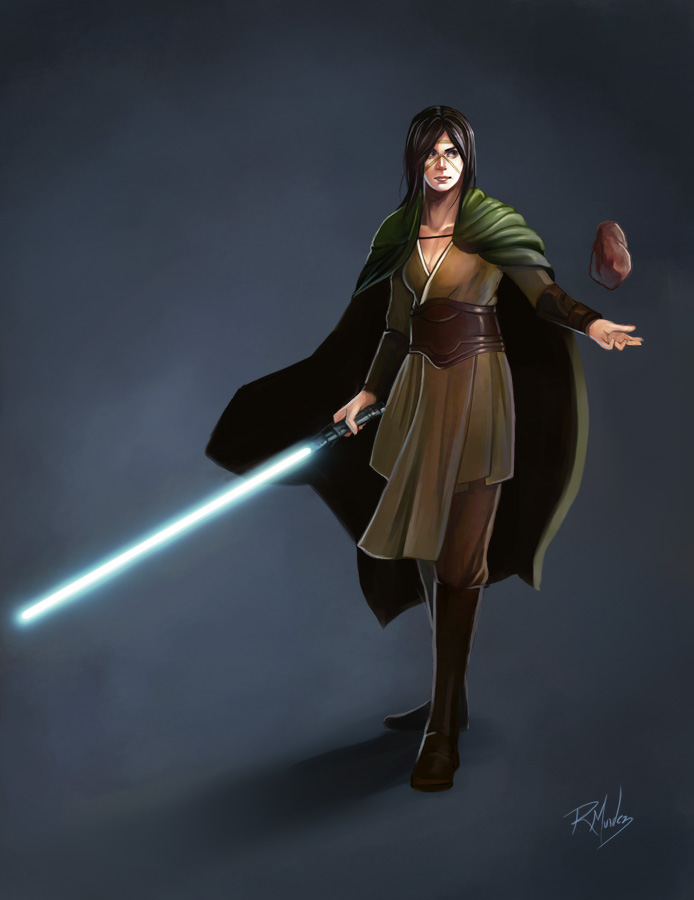 Kiffar Jedi Knight by rodmendez