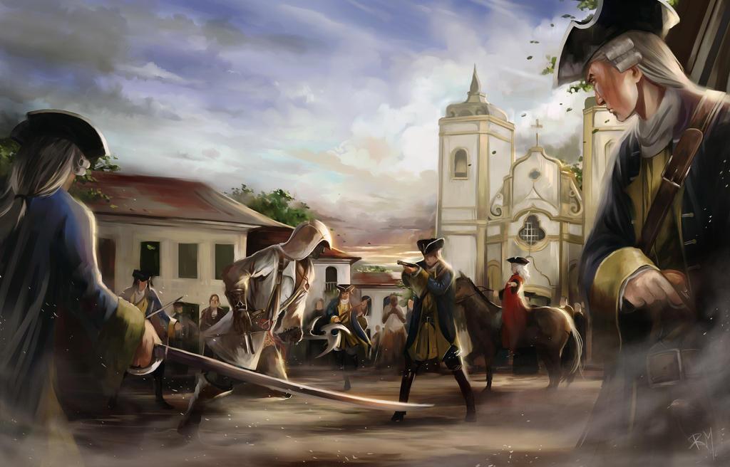 Aren the Brazilian Assassin by rodmendez