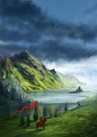 The Far Castle by rodmendez