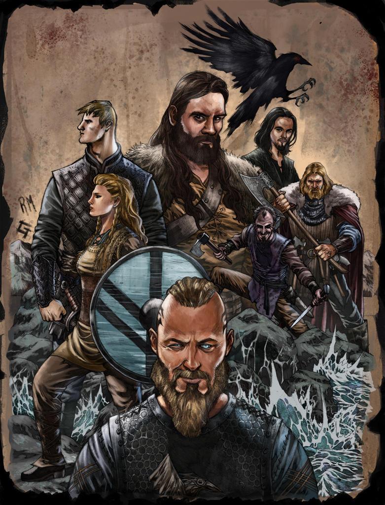 Vikings by rodmendez