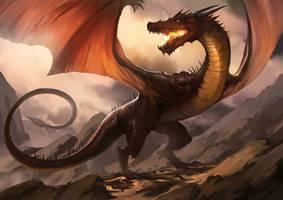 Dragon of Raklot by rodmendez