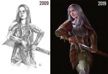 Forwen 10 Years Challenge by rodmendez