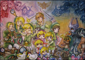 The Legend of LINK by NIPACHUU