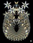 FANTASY PINEAPPLE STARS by GeaAusten