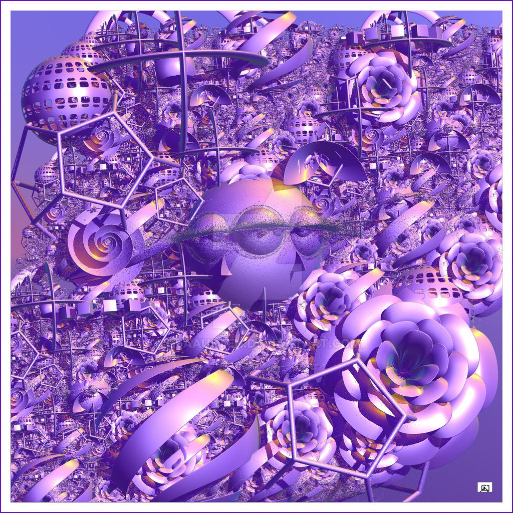 THE  PURPLE AKASHIC RECORDS by GeaAusten