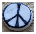 FIRST PEACE, CND, BADGE ERIC AUSTEN.1958 by GeaAusten
