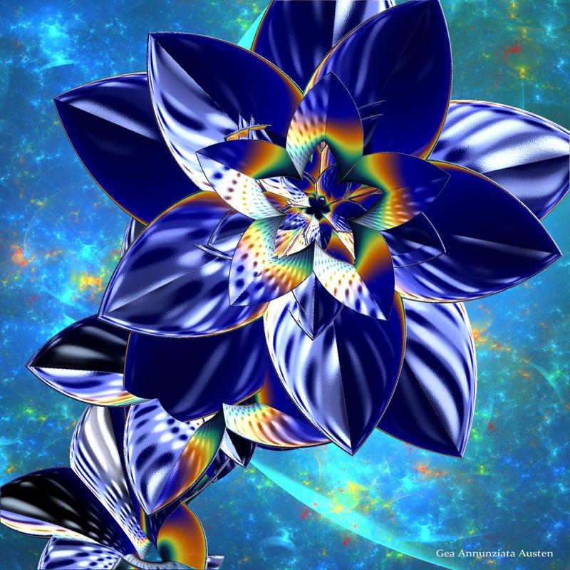 Ster23-Midnight Flower by TreehouseCharms on DeviantArt