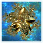 GOLDEN SPACE FRACTAL