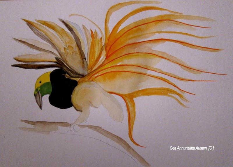 bird of paradise by GeaAusten
