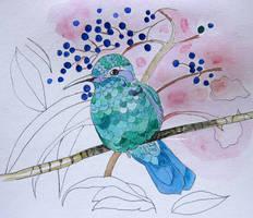 Gea  Hummingbird Work In Progress