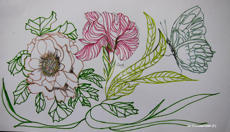 flowers 007 by GeaAusten