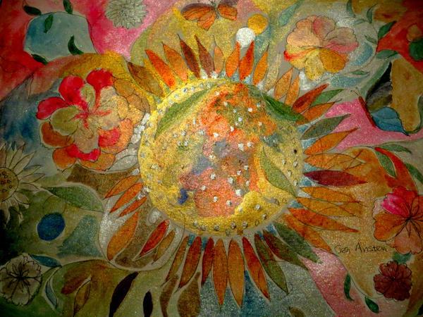 Sun in Flower by GeaAusten