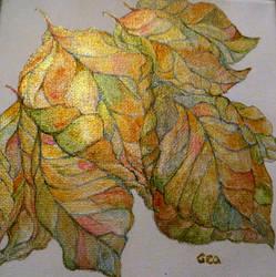 AUTUMN leaves by GeaAusten