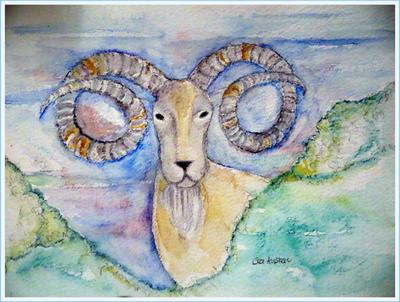 Mountain Goat by GeaAusten