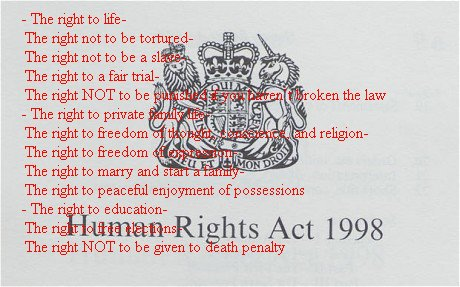 THE HUMAN RIGHTS by GeaAusten