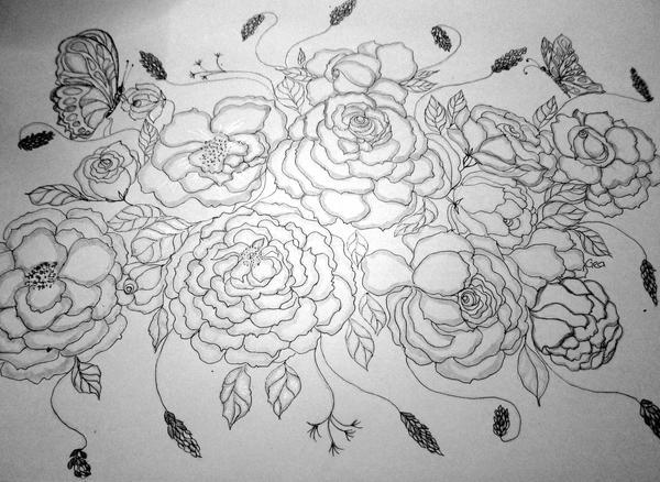 st__valentines_bouquet_by_geaausten-dR54 by GeaAusten