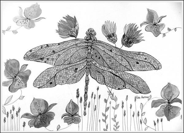 dragonfly_in_flowers_3_by_geaausten-d7GII by GeaAusten