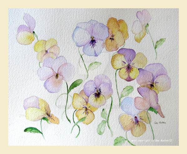 Pansy time again by GeaAusten