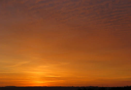 Amazing skies at Dawn, North Devon