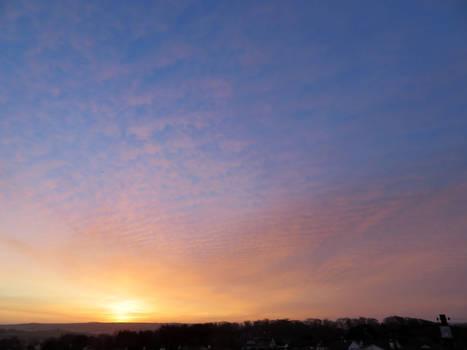 Amazing skies at Dawn, North Devon 2