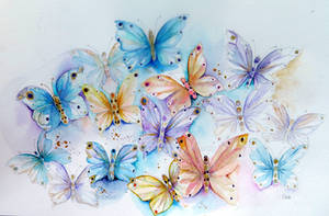 Italian butterflies