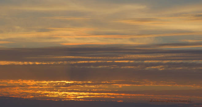 Summer dusk North Devon