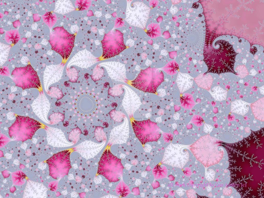 Pink Rose Petals by GeaAusten
